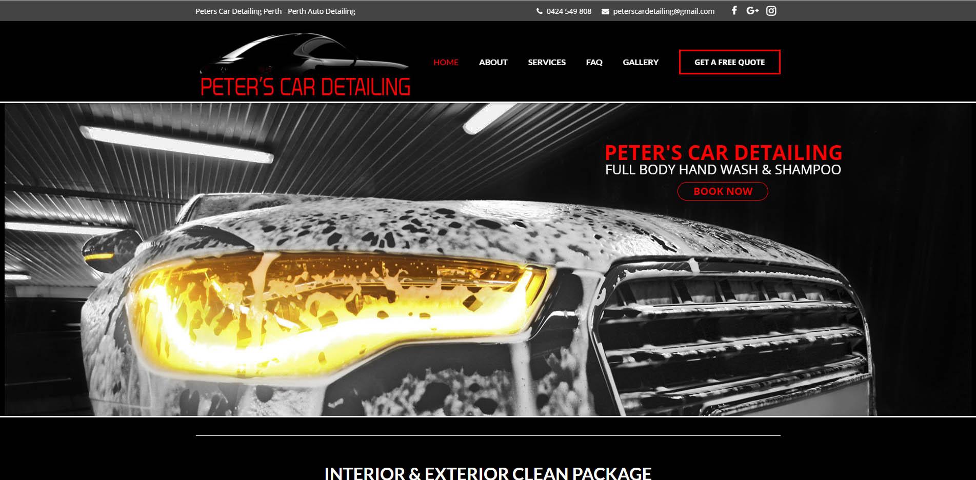 Peters Car Detailing