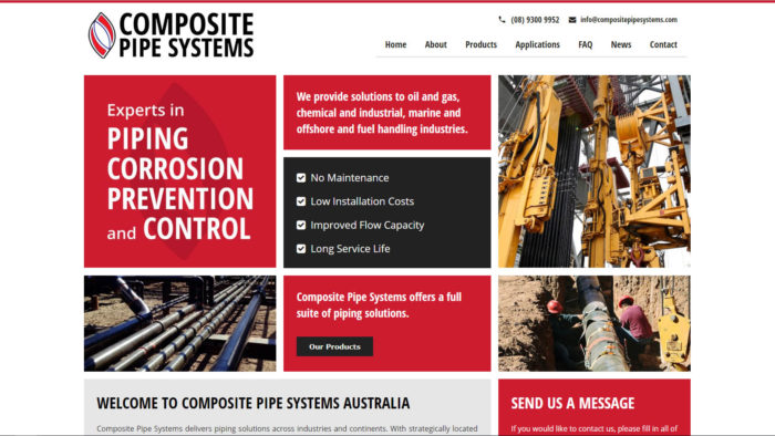 Composite Pipe Systems