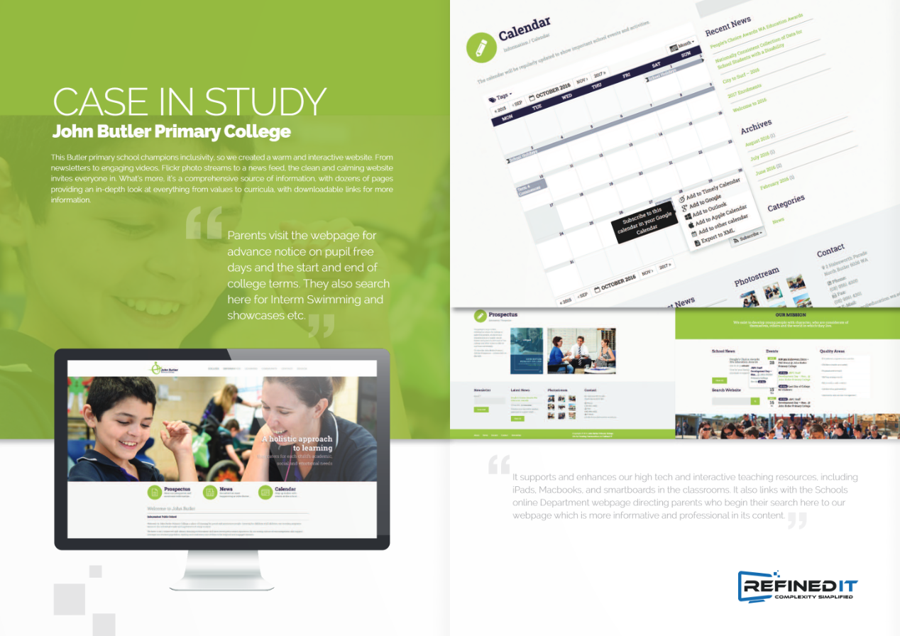 School Website Brochure